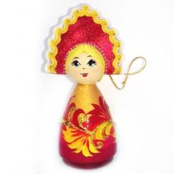 куколка деревянная малая